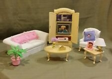 Barbie Living Room for Folding Pretty House 1996 #67553-91 Mint Condition!