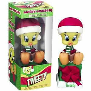 Looney Tunes Tweety Noël PVC Bobble-Head 15cm Funko