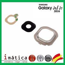 CRISTAL CAMARA LENTE SAMSUNG GALAXY J5 2016 J510 J510F J7 J710 J710F ORO DORADO