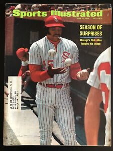 June 12 1972 Sports Illustrated Dick Allen Chicago White Sox Baseball Magazine