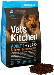 Vet's Kitchen Chicken & Brown Rice Complete Dog Food 7.5kg dogs digestive health