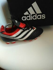 Adidas Predator Mens Football Boots Size 9 real leather genuine