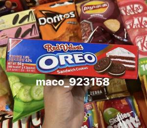 Nabisco Sams Red Velvet Oreo Cookies From Korea - US Seller 2 For $20
