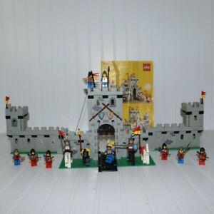 LEGO 6080 King's Castle 99% Complete Instruction Lion Knights Legoland READ