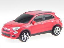 Fiat 500X 500 X red diecast model car 18-30505R Bburago 1:43