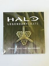 Loot Crate Halo Wars 2 Fireteam Apollo Banished Metal Pin RARE Gold Variant