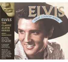 Elvis Presley - Great Country Songs [New CD] Rmst