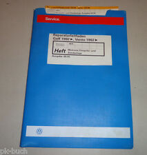 Werkstatthandbuch Golf III / Vento Motronic Einspritzanlage Zündananlage 09/1995