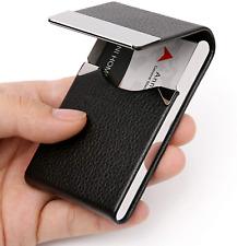 Estuche De Tarjetas Magntico Cartera Billetera Mini Business Card Holder Case