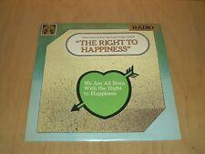 ORIGINAL RADIO BROADCAST: The Right To Happiness old radio show vinyl~Vinyl VG++