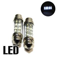2x White Ultra LED Festoon [264] 42mm 24v Interior Light Bulbs XE5