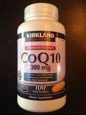 Kirkland Signature Maximum Potency CoQ10 300 mg, 100 Softgels, Exp 2021