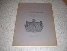 1910.tableau généalogique maison souveraine de Bar / Pierre d'Hozier & Weiss
