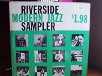 Riverside Sampler LP Modern Jazz