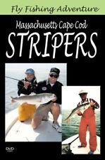Fly Fishing Adventure: Massachusetts Cape Cod Stripers DVD