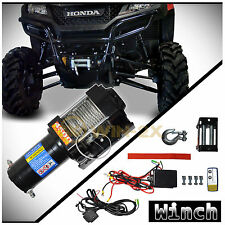 WIN-2X 4500lb 12V Electric Waterproof Recovery Winch Kit For ATV UTV Snow Mobile
