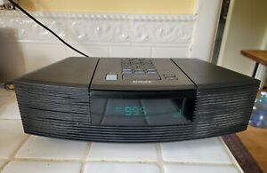 WORKING BOSE WAVE RADIO with CD MODEL AWRC-1G TABLETOP in BLACK