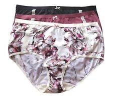 3 Lane Bryant Cacique Extra Soft Full Brief Panties Plus 22/24 26/28