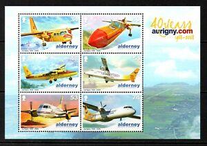 Alderney Stamps 2008 SG MSA355 Anniv of Aurigny Air Services Mint MNH