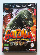 GODZILLA DESTROY ALL MONSTERS MELEE - GAMECUBE GC GAME CUBE - PAL ESPAÑA - NUEVO