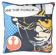 STAR WARS CUSHION DARTH VADER LUKE SKYWALKER CANVAS PILLOW KIDS FORCE AWAKENS