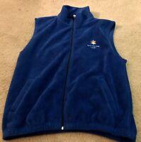 2002 Olympic Winter Games Official Salt Lake City Fleece Vest - Men's Size XL