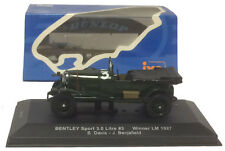IXO LM1927 Bentley Sport 3.0 Litre #3 Le Mans Winner 1927 - 1/43 Scale