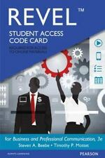 BUSINESS AND PROFESSIONAL COMMUNICATION REVEL ACCESS CODE