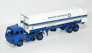 "Conrad 1:50 0071 Mercedes Tanksattelzug ""Messer Griesheim"" TM2073"