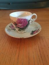 Rose Tea Cup And Saucer (Made in Japan)