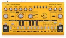 Behringer TD-3-AM Analog Bass Line Synthesizer - Säuregelb