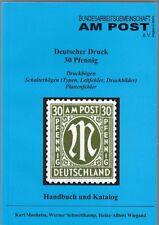 AM Post, Deutscher Druck, 30 Pfennig, Handbuch