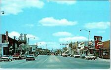 Vernal, Ut Utah Main Street Scene Cool Signs, c1960s Cars Roadside Postcard