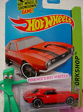 Case A/Q 2014 Hot Wheels '68 COPO CAMARO 1968 #224✿New RED; mc5✿Then and Now