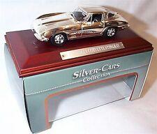 Chevrolet Corvette Stingray Silver Cars Collection New in box