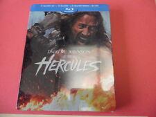 Hercules avec Dwayne Johnson Coffret Steelbook  3D + 2D +Bonus + DVD édition Fr