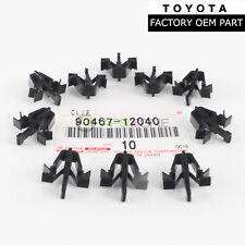 GENUINE TOYOTA TACOMA RAV4 4RUNNER GRILLE CLIPS SET OF 10 OEM 90467-12040