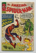 Amazing Spider-Man #5 (1963) VG (4.0) Vs. Doctor Doom ~ Marvel