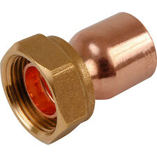 """NEW End Feed Straight Tap Connector 15mm x 3/4"""" 25 Pack"""