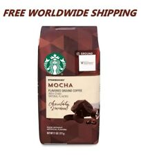 Starbucks Mocha Flavored Ground Coffee 11 Oz FREE WORLDWIDE SHIPPING