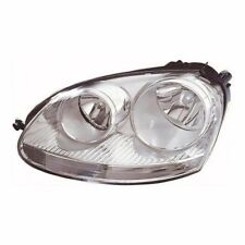 For VW Golf 05.04-09 Jetta 06-09.11 Headlight Chrome Inner W/Mtr Left NS