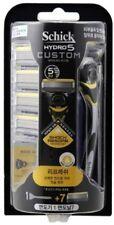 [Schick] Hydro 5 Custom Refresh Razor,Sense Energize - 1 Razor + 7 Refill Blade