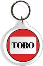 Toro Tractor Farm Garden Lawn Rider Mower Keychain Key Ring Chain Acrylic FOB