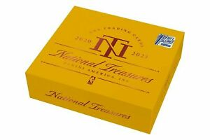 2020-21 Panini National Treasures Basketball First Off The Line FOTL Box (In ...