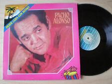 PACHO ALONSO Desde Cuba Con Ritmo SPAIN LP VINYL 1991 NM LATIN SALSA GUAGUANCO