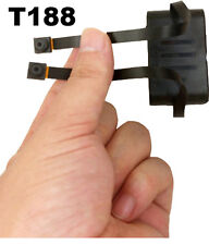 T188 Dual 2x TELECAMERA DVR SPY VIDEO REGISTRATORE MOTION DETECT Radio Remote 640 * 480p