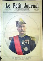 Le Petit Journal N°9 - 24/01/1891 Le Général GALLIFFET, Mort de froid !
