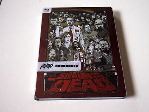 Shaun of the Dead Target Exc Mondo X Blu-ray Steelbook | Tyler Stout | LIKE NEW