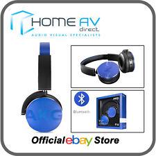 AKG Y50BT Wireless On Ear Headphones with Bluetooth - BLUE