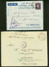 Palestine/Great Britain FPO covers (x7)